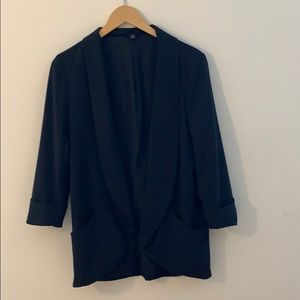 🖤Banana Republic Black Open Front Blazer